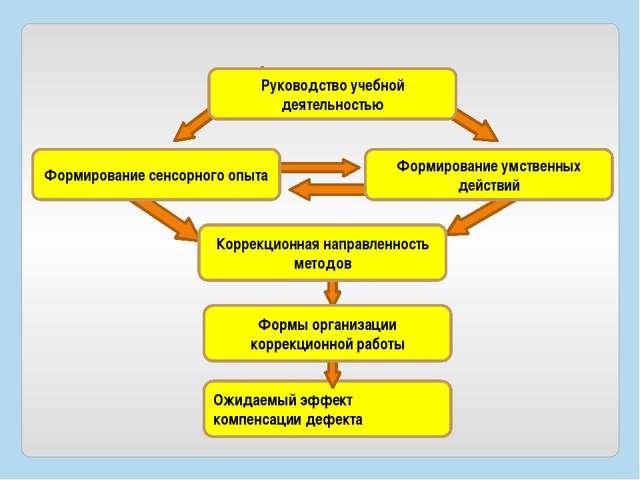Ожидаемый эффект компенсации дефекта Руководство учебной деятельностью Формир...