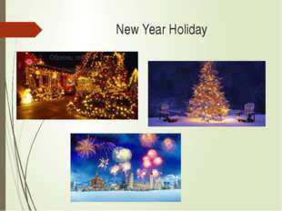 New Year Holiday