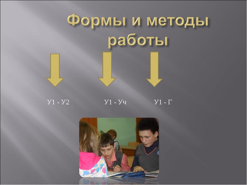 У1 - У2 У1 - Уч У1 - Г