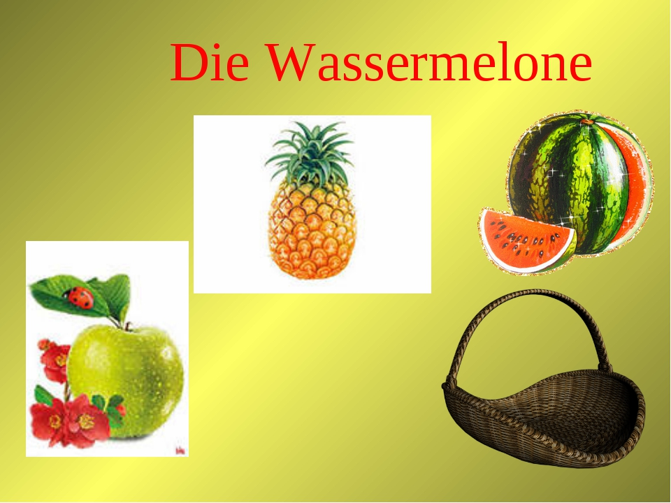 Die Wassermelone