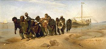 Ilia Efimovich Repin (1844-1930) - Volga Boatmen (1870-1873).jpg