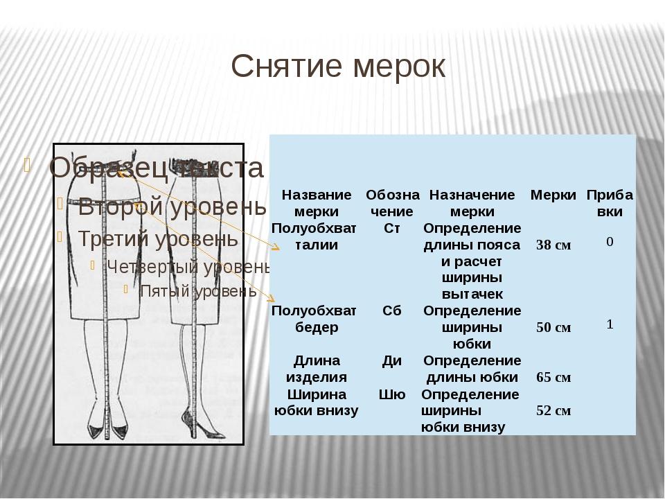 Расчеты и Чертеж конструкции юбки ТН=65 ТБ= 20 ББ1=Сб+Пб=52+1=53 ББ2=(Сб+Пб)/...