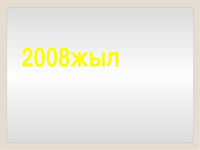 2008жыл