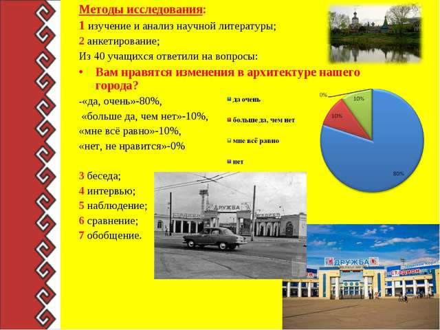 Методы исследования: 1 изучение и анализ научной литературы; 2 анкетирование;...