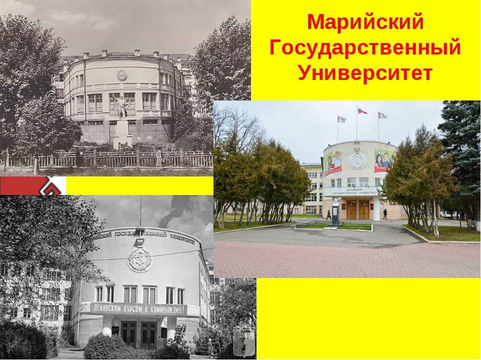 Марийский Государственный Университет