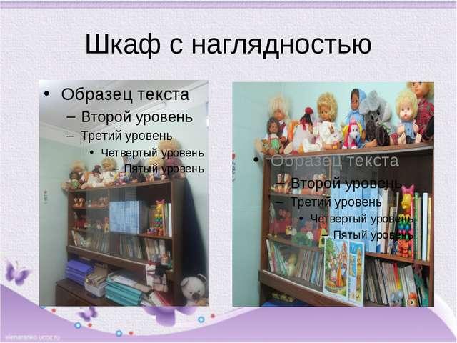 Шкаф с наглядностью