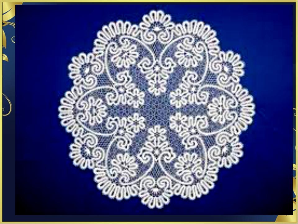 Вологодская роспись кружево