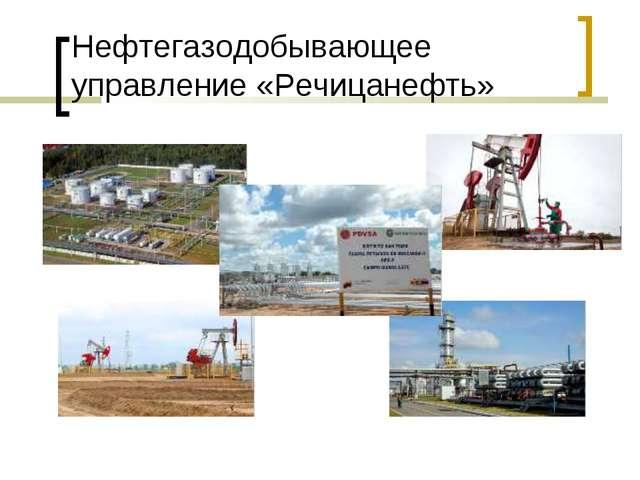 Нефтегазодобывающее управление «Речицанефть»