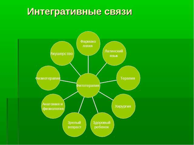 Интегративные связи
