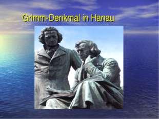 Grimm-Denkmal in Hanau