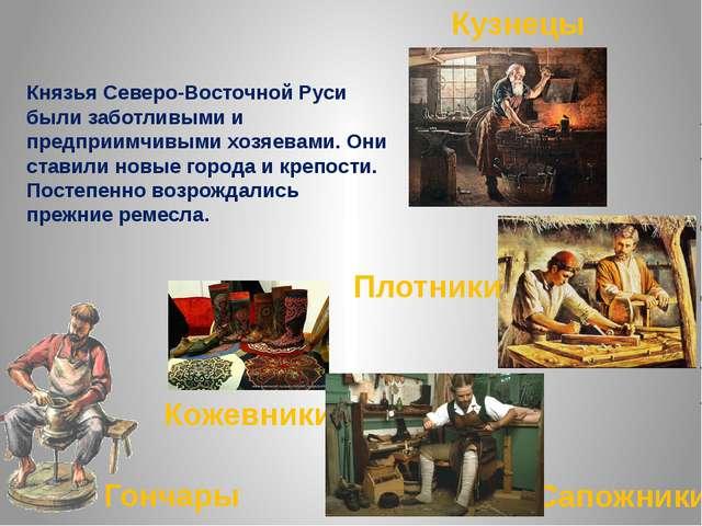Князья Северо-Восточной Руси были заботливыми и предприимчивыми хозяевами. Он...