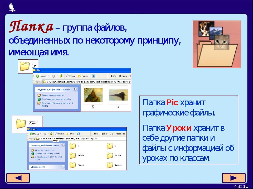 размещения: что такое файл папка и ярлык проводок