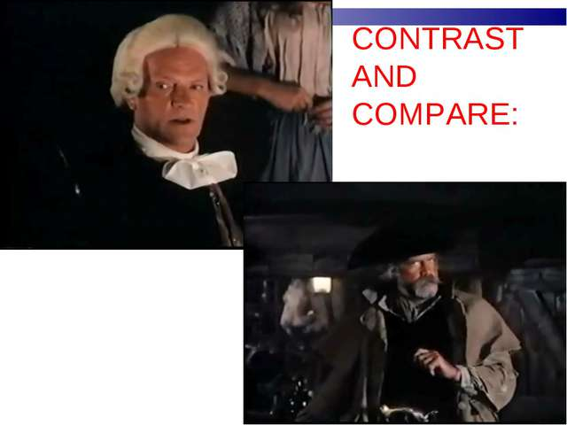 CONTRAST AND COMPARE: