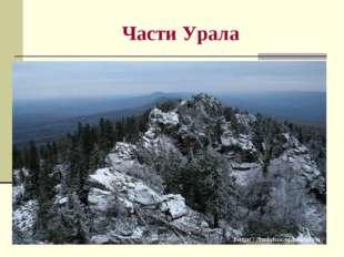 Части Урала