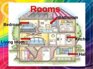 Rooms Bedroom Living room Kitchen Bathroom Hall