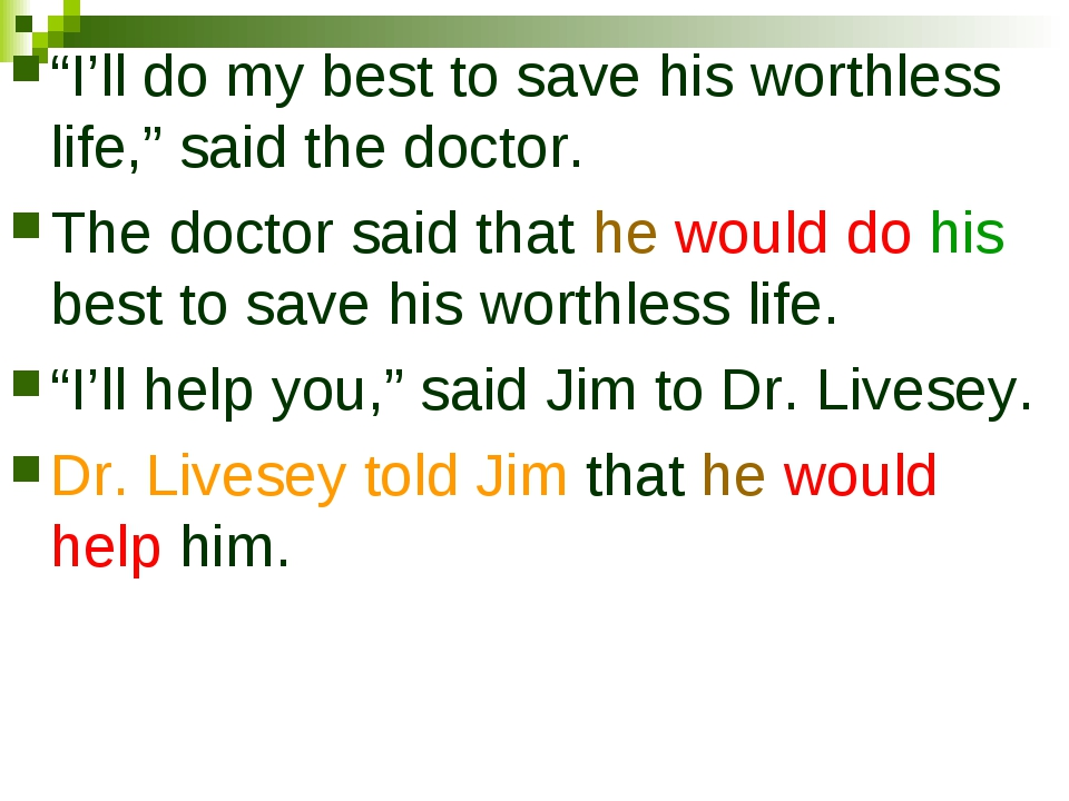 """I'll do my best to save his worthless life,"" said the doctor. The doctor sai..."