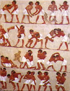 Ancient Egyptian Art Is An Early Form Of Animation