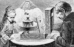 https://upload.wikimedia.org/wikipedia/commons/thumb/1/17/Reynaud_praxinoscope.jpg/300px-Reynaud_praxinoscope.jpg