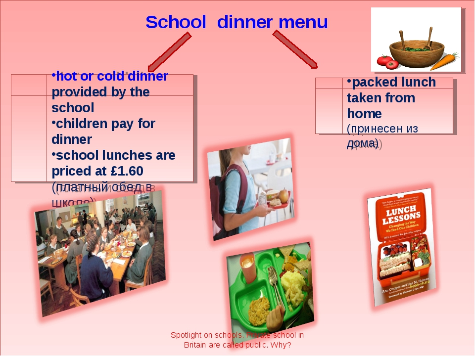 School dinner menu hot or cold dinner provided by the school children pay for...