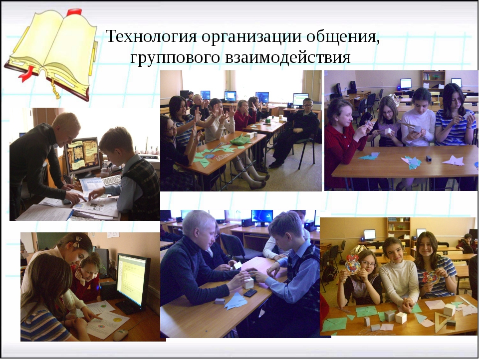 Технология организации общения, группового взаимодействия