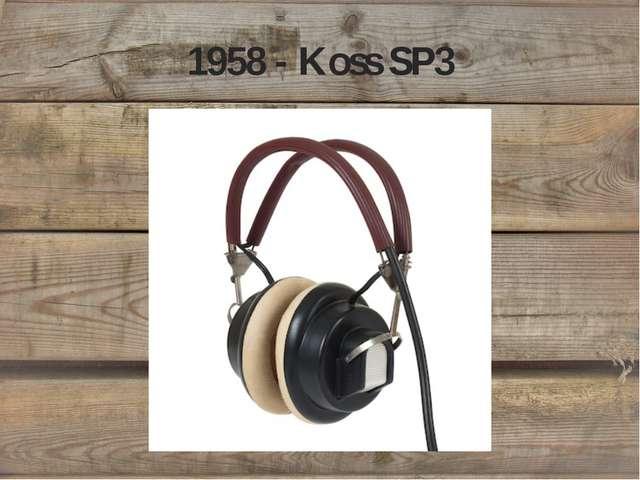 1958 - Koss SP3