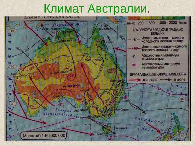 Климат Австралии.