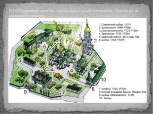 В 1935 г. древний храм был превращен в музей-заповедник. Этот статус он сохра