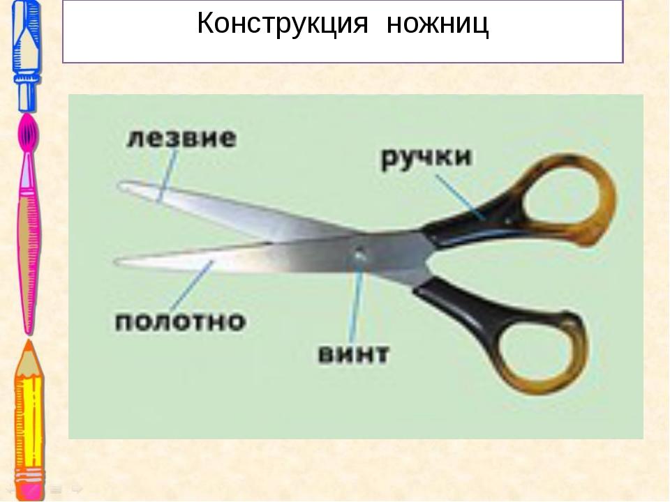 Конструкция ножниц