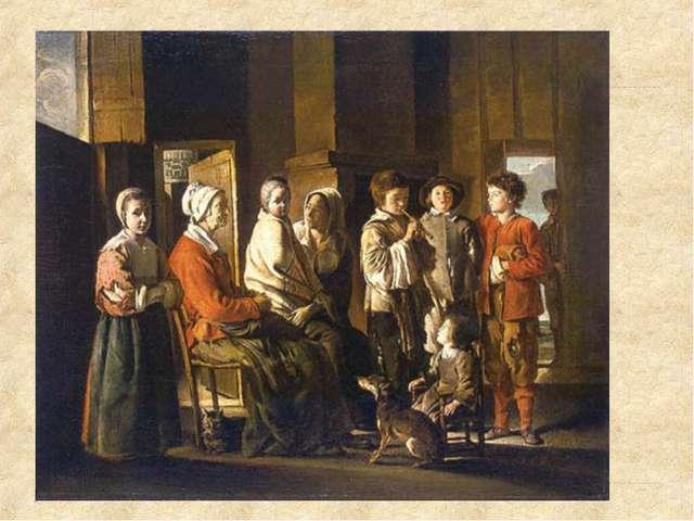 Простые горожане одевались в удобную и добротную одежду темных, в основном се...