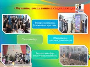 Обучение, воспитание и социализация