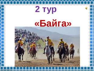 2 тур «Байга» FokinaLida.75@mail.ru
