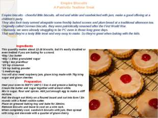 Empire Biscuits A Patriotic Teatime Treat Empire biscuits - cheerful little b