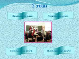 2 этап Наращивание задачи Сокращение задачи Сопоставление задачи Преобразован