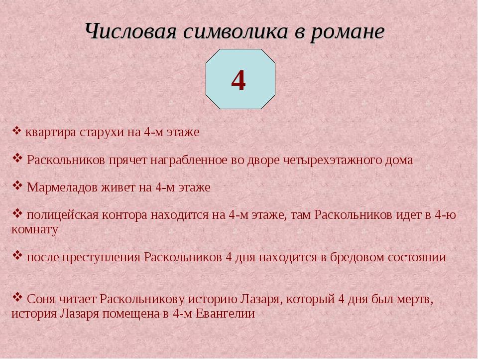 квартира старухи на 4-м этаже Раскольников прячет награбленное во дворе четы...