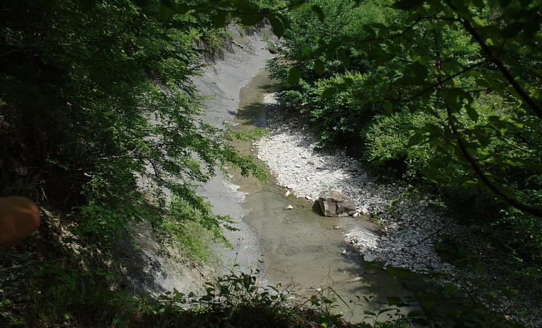 Водопады реки Жане.