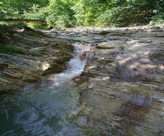Водопады реки Жане. Чаша Геракла.