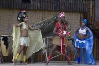Африканская деревня Сукко Анапа