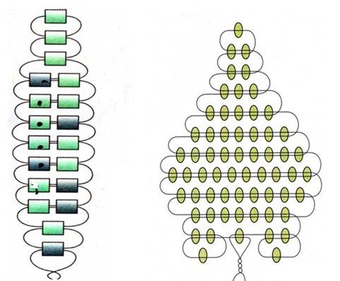 Легкая схема вязания свитера