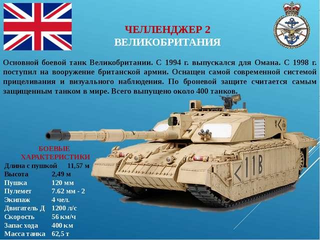 БОЕВЫЕ ХАРАКТЕРИСТИКИ Длина с пушкой11,57 м Высота2,49 м Пушка120 мм Пу...