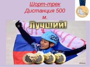 Шорт-трек Дистанция 500 м. Виктор Ан