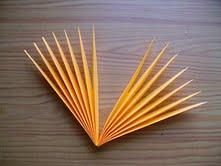 солнышко издисков ицветной бумаги