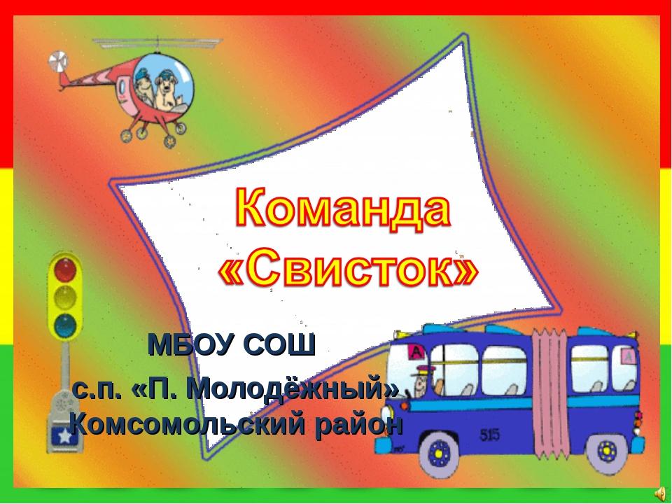 МБОУ СОШ с.п. «П. Молодёжный» Комсомольский район