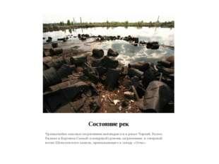 Состояние рек Чрезвычайно опасные загрязнения наблюдаются в реках Черной, Рах