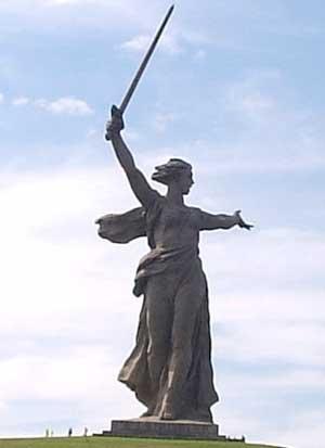 """Памятник """"Родина-мать зовет"""""""