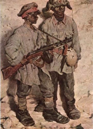 Картины о Великой Отечественной войне. Часть 8. (20 фото)
