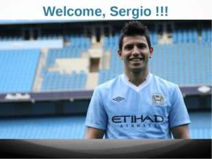 Welcome, Sergio !!!
