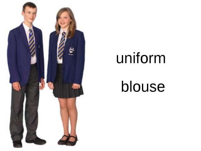 uniform blouse