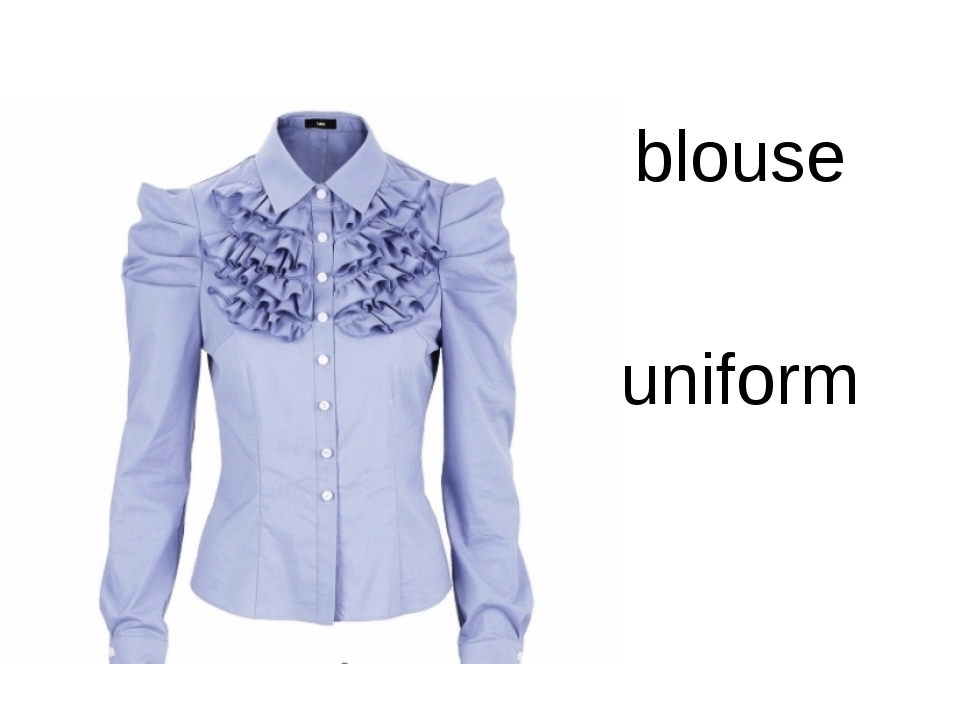 blouse uniform