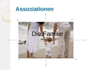 Assoziationen Die Familie