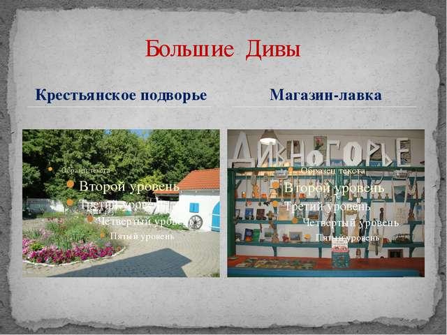 Крестьянское подворье Большие Дивы Магазин-лавка